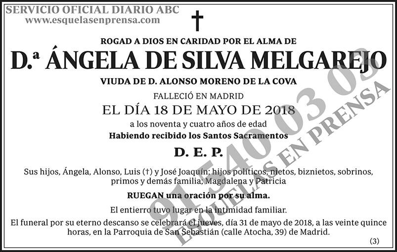 Ángela de Silva Melgarejo